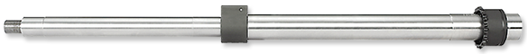 18 Inch Mid-Length Stainless Steel Barrel Assembly with Low Profile Gas Block