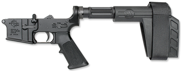 LAR-15 Lower Half with SBX-K Arm Brace