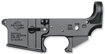 LAR-458 Forged Lower Receiver, stripped