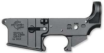 LAR-6.8 Forged Lower Receiver, stripped