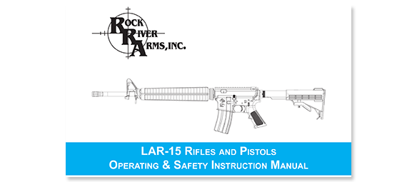 RRA LAR-15 Operating and Safety Manual