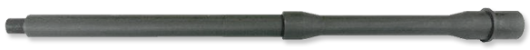 9mm Chrome Moly Barrel with Extension and Pin, 16-Inch CAR