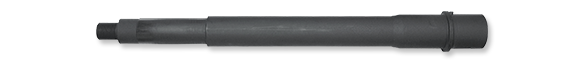 9mm CHROME LINED Chrome Moly Barrel with Extension and Pin, 10.5 Inch Pistol