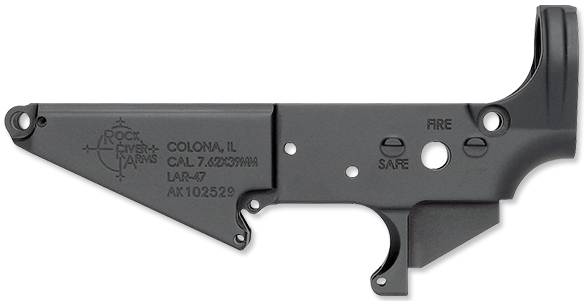 LAR-47 Lower Receiver, Stripped