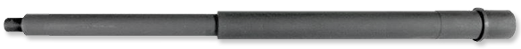 6.8 SPC 16 Inch Mid-Length Chrome Moly Barrel with Extension and Pin