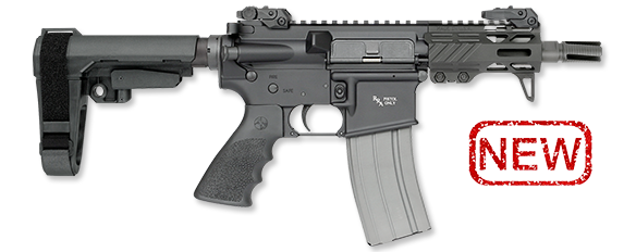 RUK-15 Pistol with SBA3 Brace