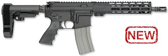 10.5 Inch Pistol with SBA3 Brace